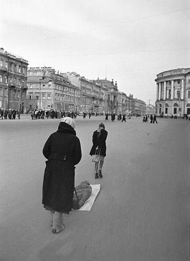 Archive photograph of Leningrad