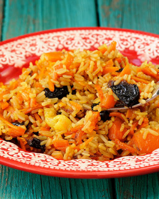 Winter Holiday Pilaf