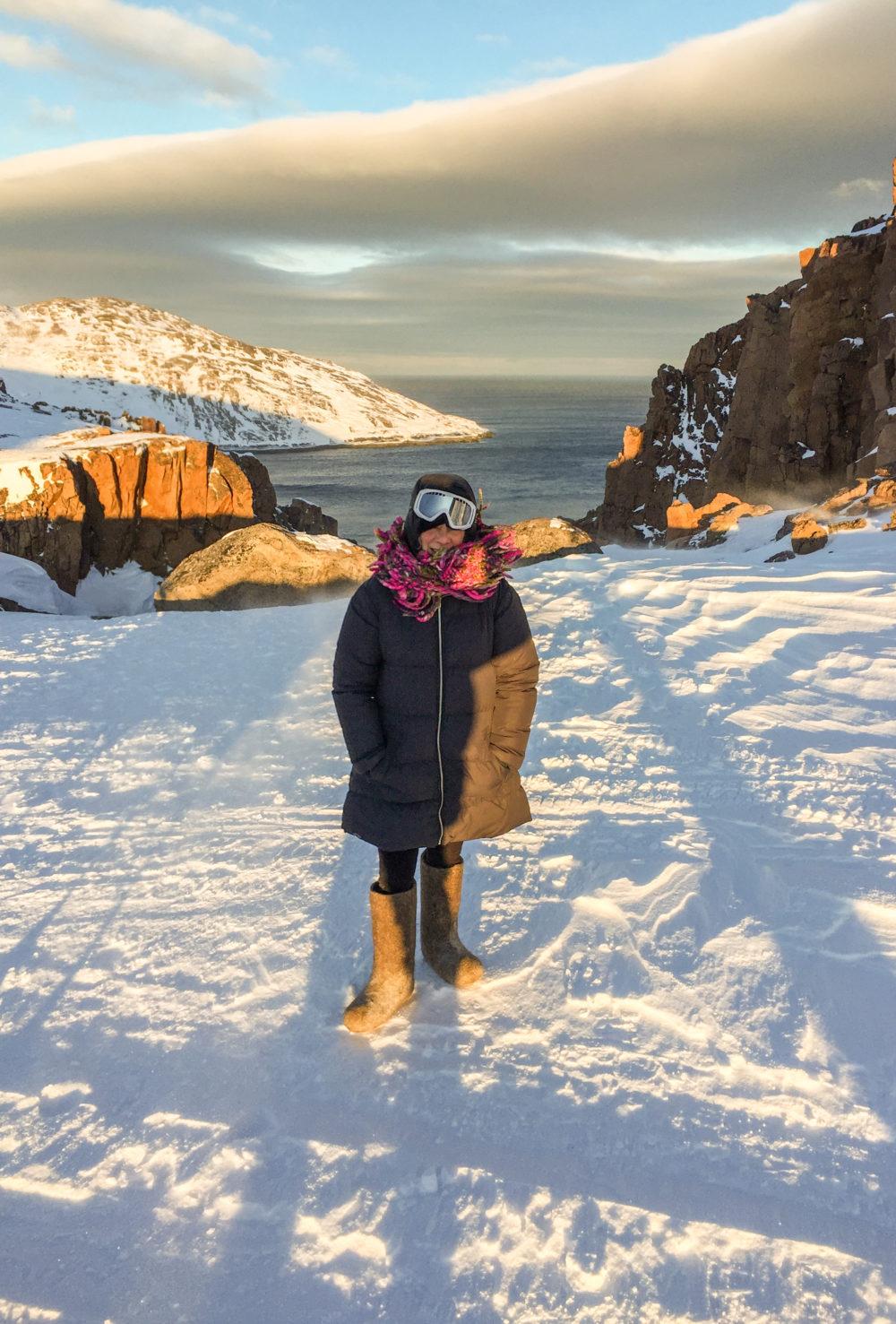Darra Goldstein at Barents Sea